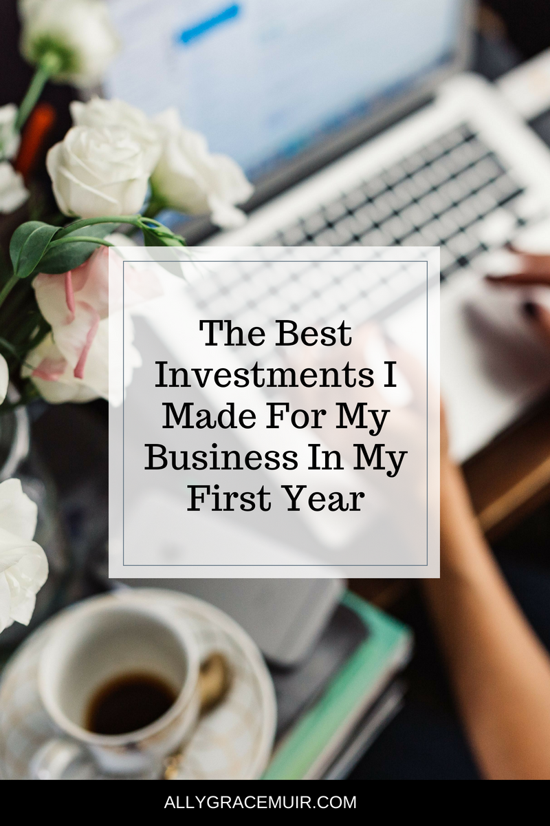 The Best Investments I Made For My Business In My First Year